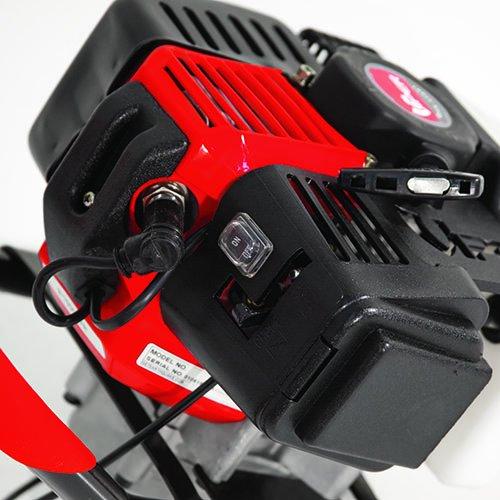 Earthquake E43 1-Person Earth Auger Powerhead - 43cc 2-Cycle Engine, 5 Year Warranty