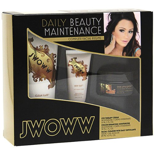 2012 Australian Gold Jwoww 3 Piece Skin Care Kit Complete Facial Regime Moisturizer