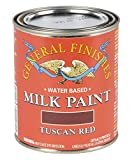 General Finishes Milk Paint (1 Pint, Tuscan Red)