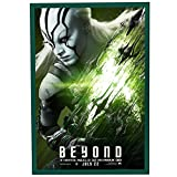 "Movie Poster Frame 27x40 Inches, Green SnapeZo 1.25"" Aluminum Profile, Front-Loading Snap Frame, Wall Mounting, Professional Series for One Sheet Movie Posters"