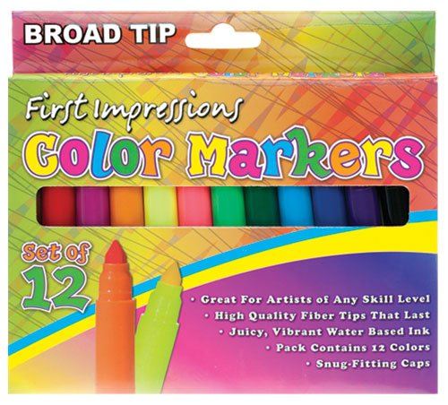 First Impressions Color Markers Kids product image