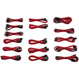 CORSAIR 専用スリーブケーブル CP-8920049 Cable Kit (RED)