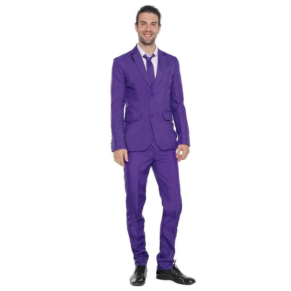EraSpooky Color Sólido Traje Hombre Fiesta Blazer, Incluye ...
