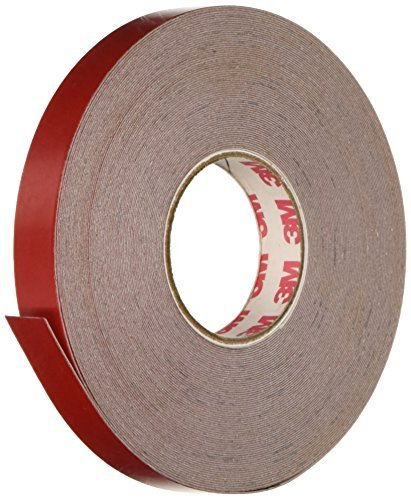 3M Scotchlite Reflective Striping Tape, Red, 1/2-Inch by 50-Foot