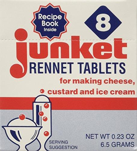 JUNKET RENNET TABLETS VNLA 8CT, 0.23 OZ (Junket Tablets)