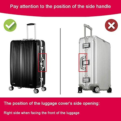LEISISI Hague Appel For Peace Protector Cover Elastic Suitcase Cover Luggage Cover Protector XL 31-32 inch