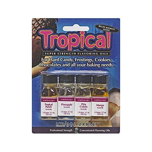 LorAnn 4 Pak Tropical Mix Flavoring