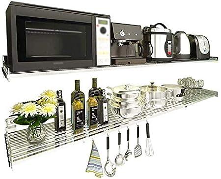 WIN&FACATORY Rejilla de Horno de microondas Muebles de Cocina ...