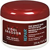 Vidal Sassoon Pro Series Restoring Repair 1 Minute Mask 7.6 Fl Oz