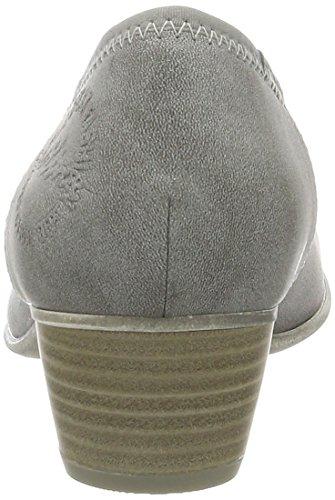 s.Oliver 5-5-22301-28, Zapatos de Tacón Mujer Gris (Graphite 206)