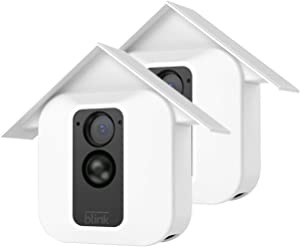 HOLACA Silicone Skin for Blink Home Security- Silicon Case for Blink XT Blink XT2 Outdoor Camera - Anti-Scratch Protective Cover - Extra Protection (2 Pack, White)