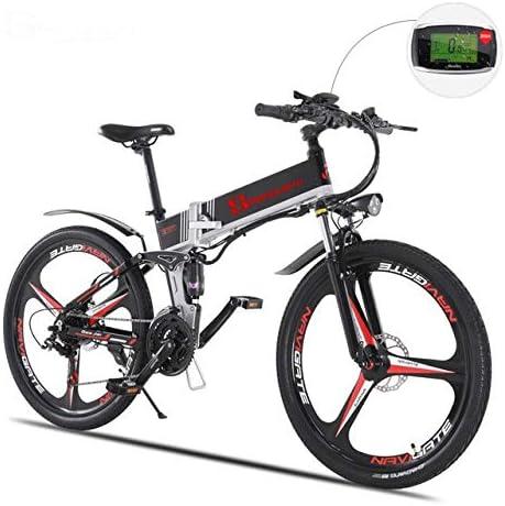 SHIJING Bicicleta eléctrica asistida eléctricamente ebike ...