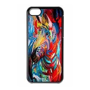 DIY iPhone 5C Cover Case, Custom iPhone 5C Phone Case - Zebra
