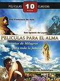 PELICULAS PARA EL ALMA 10 PACK:EL NINO Y LA ESTRELLA/ROSAS BLANCA PARA MI HERMANA NEGRA/JESUS MARIA Y JOSE/SAN FRANCISCO DE ASIS/UNA MAESTRA INOLVIDABLE/EL PECADO DE ADAN Y EVA/JESUS EL NINO DIOS/LA VIRGEN DE GUADALUPE/SAN IGNACIO DE LOYOLA/HIPOLITO EL DE SANTA