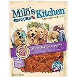Milo's Kitchen Duck Jerky Recipe Dog Treat, 15-Ounce