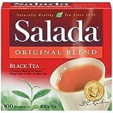 Salada Original Black Tea Blend, 100-Count Tea Bags (Pack of 12)
