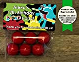 Paintball Party Birthday Personalized Treat Bags and Stickers - Best Reviews Guide