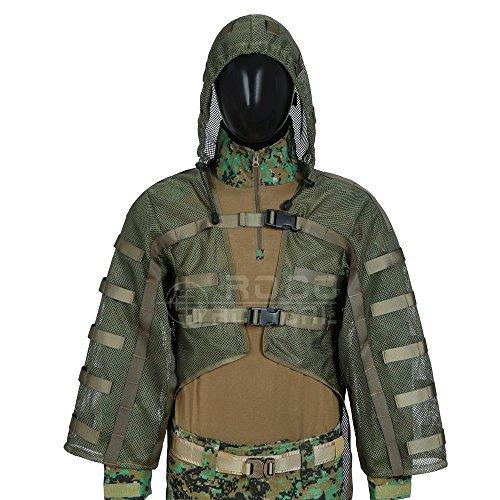 (LytHarvest Tactical Sniper Tog Ghillie Suit Foundation Hydration Compatible)