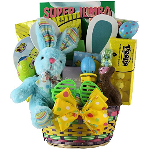 Hoppin-Easter-Fun-Boy-Childs-Easter-Basket-Ages-3-to-5-Years-Old