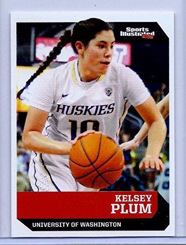 "Sports Illustrated KELSEY PLUM 2016"" 1ST EVER PRINTED ROOKIE CARD #501! UCONN HUSKIES!"