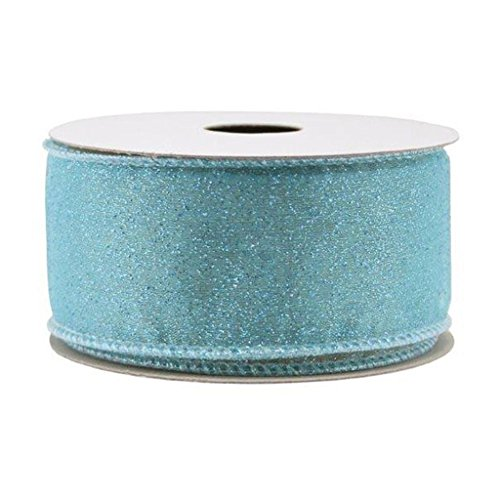 "Spritz Fabric Ribbon - 1-1/2"" X 12 Ft Turquoise"