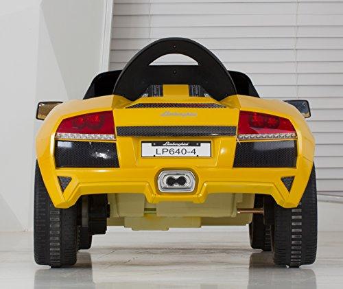 Lamborghini Quad Bike: Vroom Rider Lamborghini Murcielago LP 640-4 Rastar 6V
