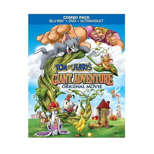 Tom & Jerry: Giant Adventure Blu-Ray Combo Pack (Blu-Ray/DVD/Ultraviolet)