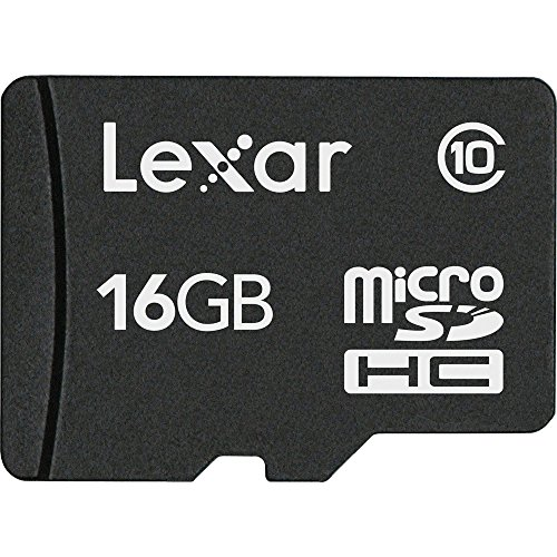 Lexar 16GB Class 10 microSDHC Memory Card, 10 MB/s Read