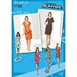 Simplicity Project Runway Collection 1798 Misses Dress Sewing Pattern