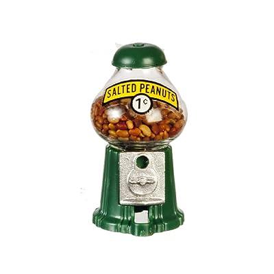 Dollhouse Miniature Peanut Dispenser Display: Toys & Games