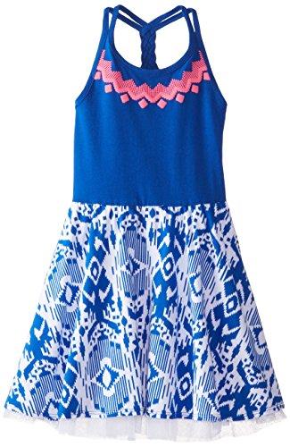 The Children's Place Little Girls' Braided-Back Dress