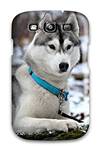 2015 6116141K28725088 Galaxy Case - Tpu Case Protective For Galaxy S3- Animal Wolf