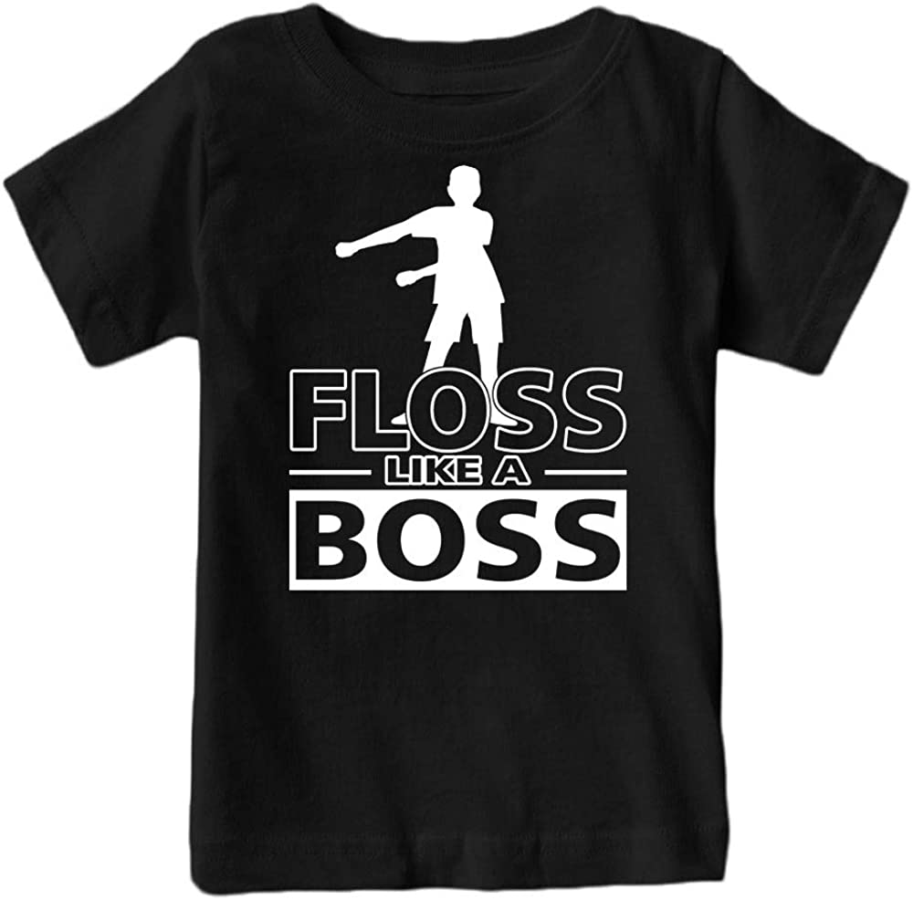 Kids Floss Like a Boss Flossin Dance Youth T Shirt