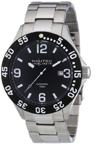 Nautec No Limit Men's Watch(Model: VF AT/STSTBKBK-WH)