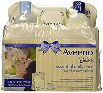 Amazon Com Aveeno Baby Gift Sets Essential Daily Care