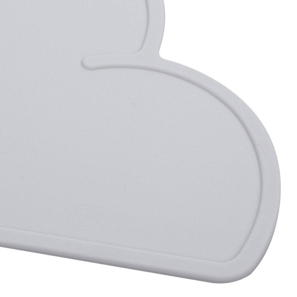 port/átil Antideslizante AOLVO para beb/és y ni/ños peque/ño Lavable Mantel Individual de Silicona para ni/ños