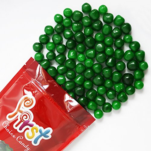 FirstChoiceCandy Green Apple Sours Chewy Candy Balls 2LB Bag