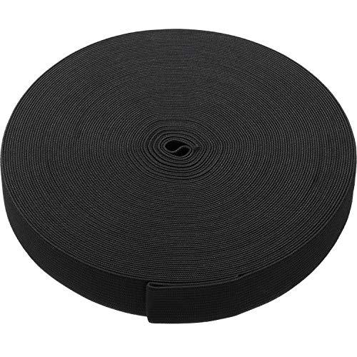 eBoot Black Elastic Spool (1 Inch x 22 Yard)