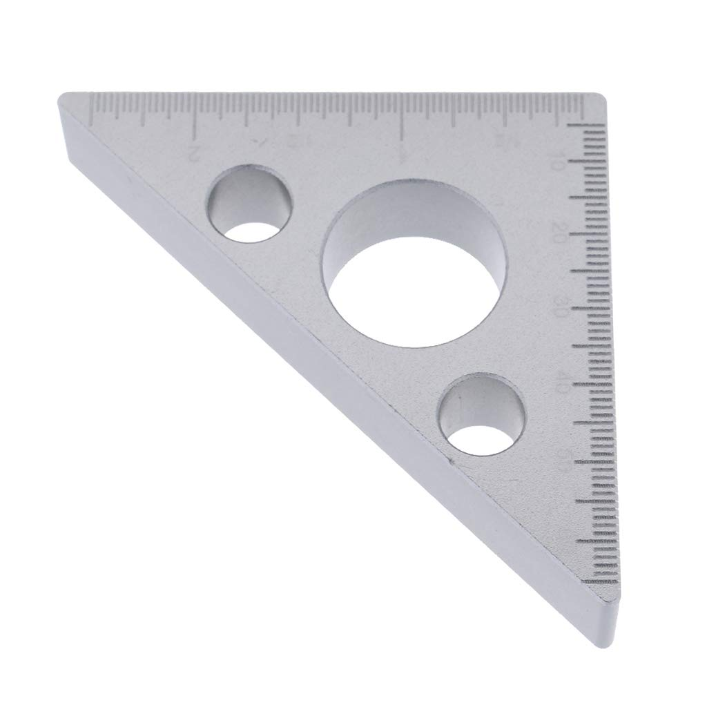 Baoblaze Precision Angle Block Plate with 3 Holes for Easy Mounting CNC Metalworking