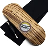 Peoples Republic P-Rep 34mm x 98mm Wooden Fingerboard Deck - Zebra