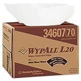 KCC34607 - Wypall L20 Wipers, Brag Box, 12 1/2 X 16 4/5, Four-ply, White, 176/box