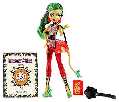 Monster High New Scaremester Jinafire Long Fashion Doll]()