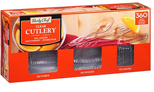 Daily Chef Cutlery 360ct 120 Forks