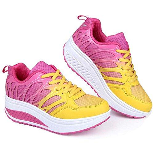 attivit donna scarpe per da colorate ginnastica corsa da Solshine da zaqw1Own