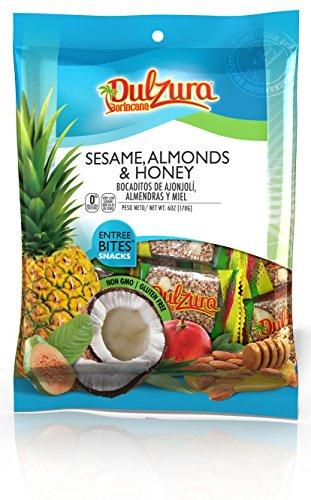 Dulzura Borincana Sesame Seeds with Honey & Almonds 6 oz [170 g] ()