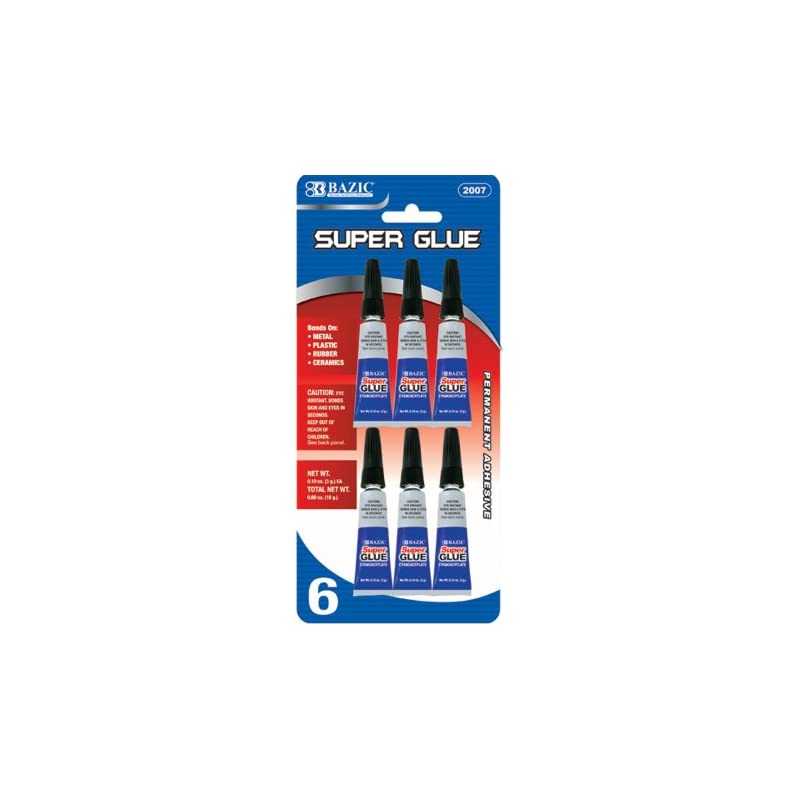 bazic-3g-010-oz-super-glue-6-pack