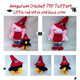 Little Witch And Black Crow Amigurumi Crochet pattern ...