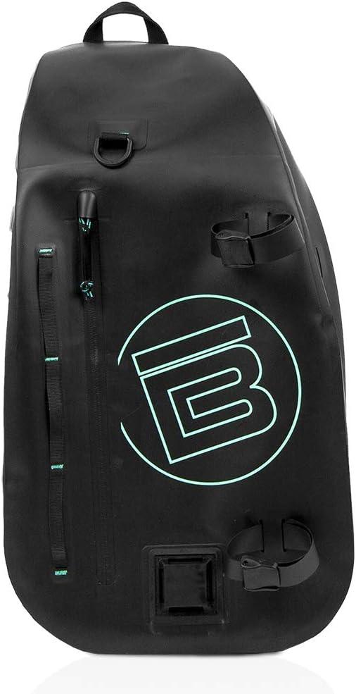 BOTE Highwater Sling Bag for Paddle Boarding   Waterproof SUP Backpack & Slingpack with 20 Liter Capacity, Black