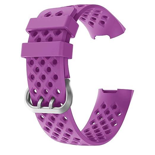 para el Reloj Fitbit Charge 7 de Reemplazo de la Correa de la Banda de la muñeca del Lazo del Deporte Suave de Nylon: Amazon.es: Relojes