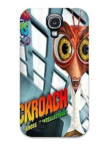 StephenThomas Premium Protective Hard Case For Galaxy S4- Nice Design - Monstersvsaliens Monsters Aliens Monster Alien Film Movie